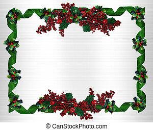 karácsony, határ, keret