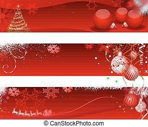 karácsony, horizantal, transzparens