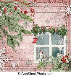 karácsony, kártya