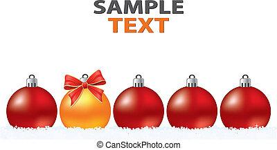karácsony, kreatív, elvont, köszönés kártya