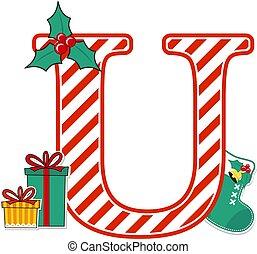 karácsony, levél, belétek, abc