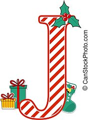 karácsony, levél, j, abc