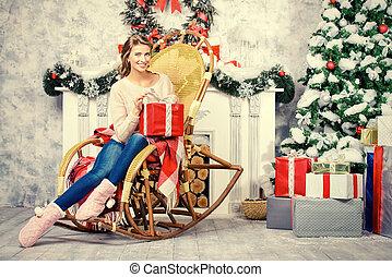 karácsony, női