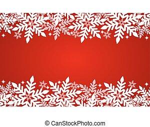 karácsony, piros háttér