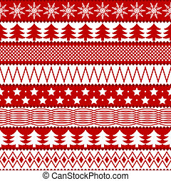 karácsony, seamless, struktúra