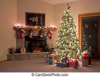 karácsony, szoba