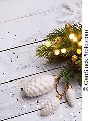 karácsonyfa, fény