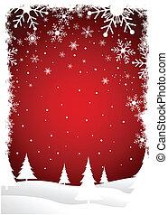 karácsonyfa, háttér
