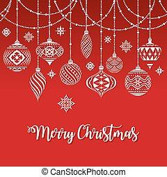 karácsonyi díszek, köszönés kártya