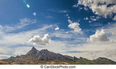 Karadag mountain time lapse