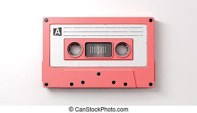 karafiát, smíšenina, kazeta pásek