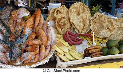 karaibski, fishmarket