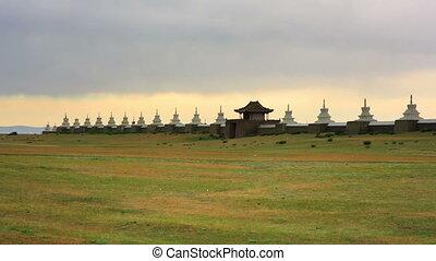 Karakorum city walls, old capital of mongolia - Karakorum...