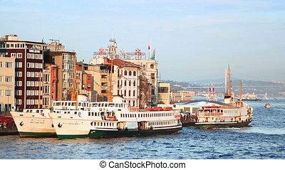 Karakoy Port in Istanbul