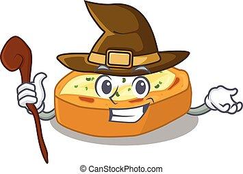 karakter, sneaky, gebakken aardappels, heks, gecompliceerd, spotprent