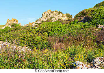 Karalar regional landscape park in Crimea.