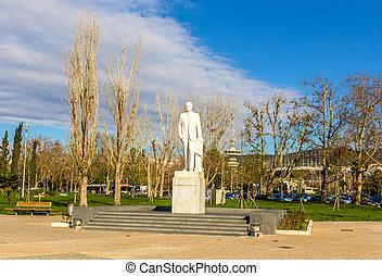 karamanlis, konstantinos, thessaloniki, 像, ギリシャ
