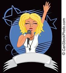 karaoke, affisch