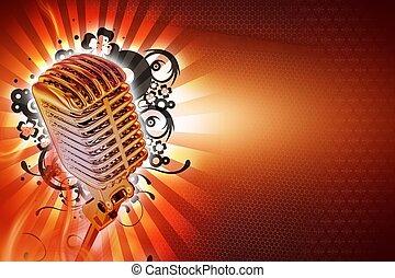 karaoke, fond