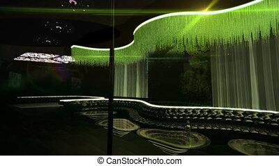 karaoke night club led light - the nightclub for luxury...