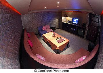 Karaoke song party room
