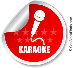 Karaoke vector label