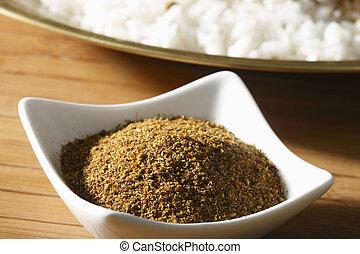 Karapodi is a powder made roasted chillies and curry leaves ground with coriander seeds. Karapodi can be eaten with idli, dosa, rice, upma etc.