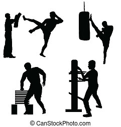 karate, addestramento