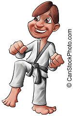 karate, capretto
