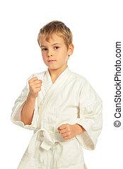 karate, fiú