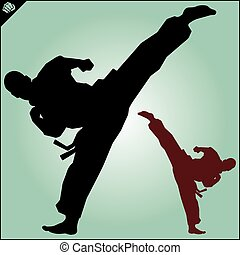 Karate fighters collection.eps - Karate fighters collection