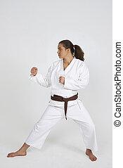 karate girl