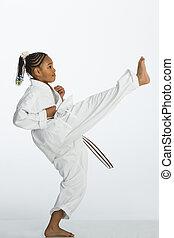 karate, kick!