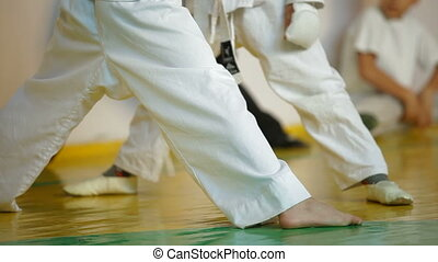 Karate Kids - Kids training martial arts