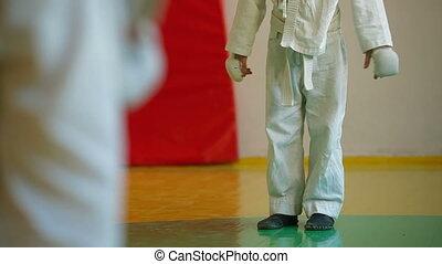 Karate Kids - Kids training martial arts