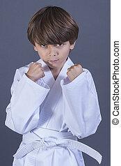 karate, koźlę