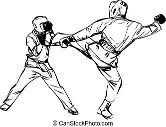 Karate Kyokushinkai martial arts sports - Karate ...
