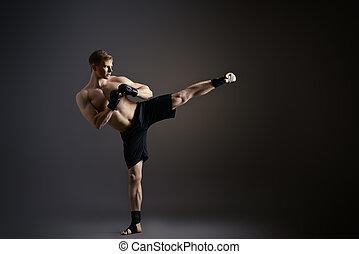 karate, man