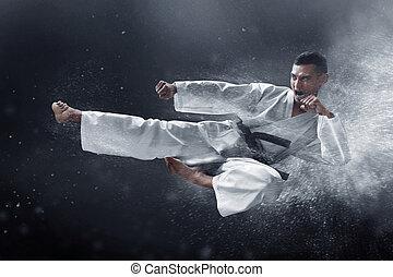 karate, martial rajzóra belerúg