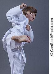 karate, megrúg