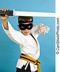 karate, ninja