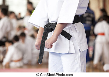Karate position