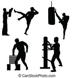 karate, training