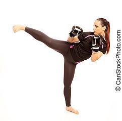 karate, treten