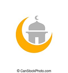 kareem, mubarak, simple, musulmán, ramadhan, ramadan, musulmán, diseño, o