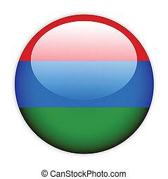 Karelia flag button