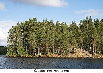 karelian, landschaftsbild
