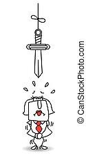 karen, damocles's, espada