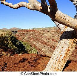 Karijini National Park Australia - Karijini National Park in...