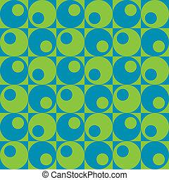 karikák, alatt, squares_blue-green